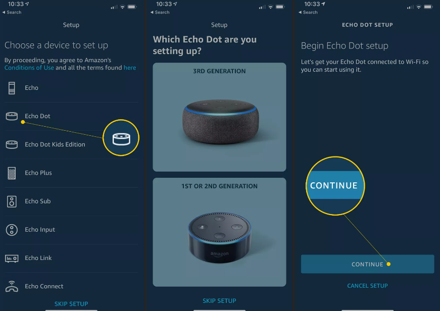 Set up Alexa