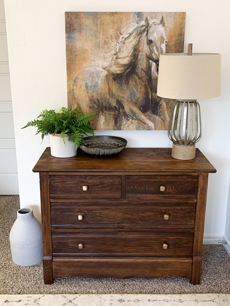Repurposed Furniture: Dresser Transformation with Varathane Premium