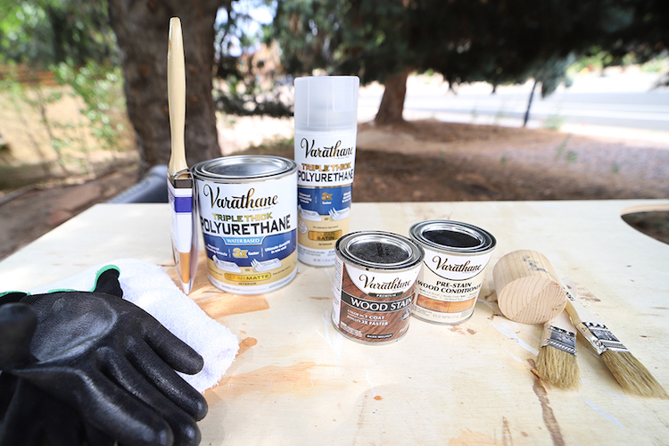 How to Stain Soft Woods with Varathane Premium
