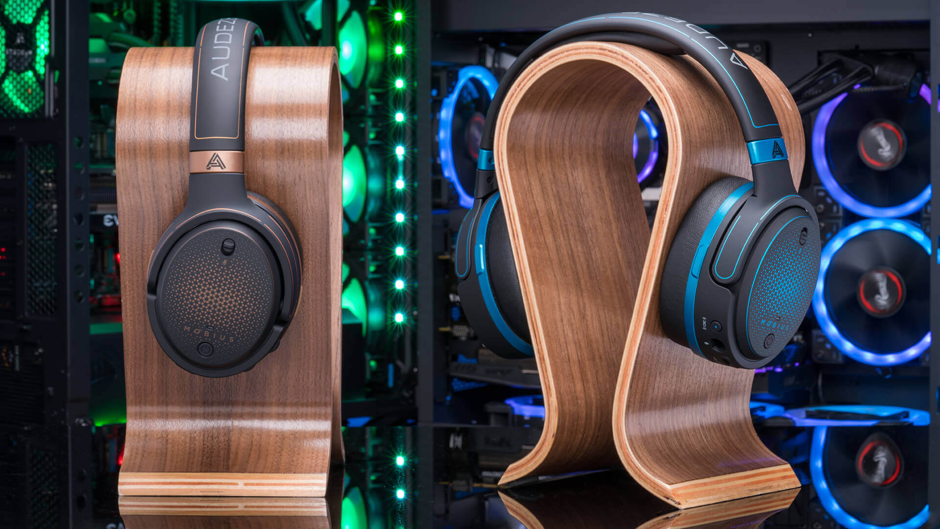 The Audeze Mobius gaming headphones